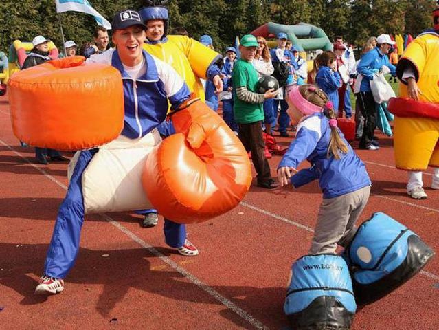 Спортивно развлекательные конкурсы для детей
