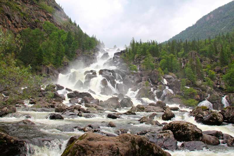 водопад Учар. CC0
