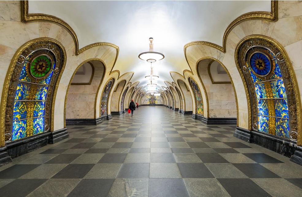 Картинки московское метро, розы