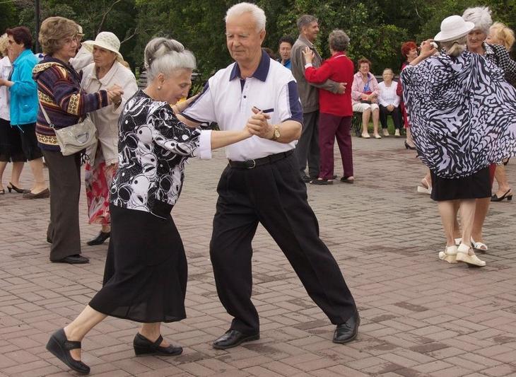 Уроки танцев в тюмени кому за 40
