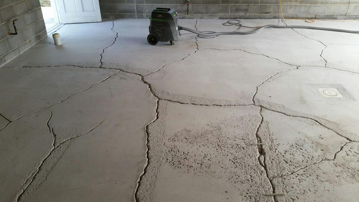 как быстро высушить бетон