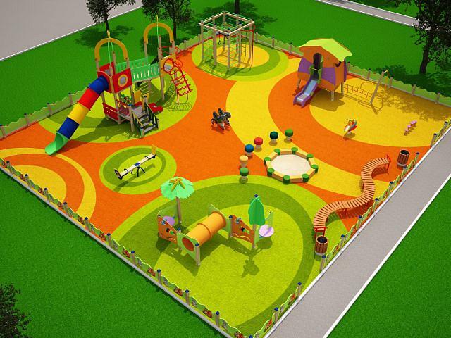 Дизайн игровых площадок